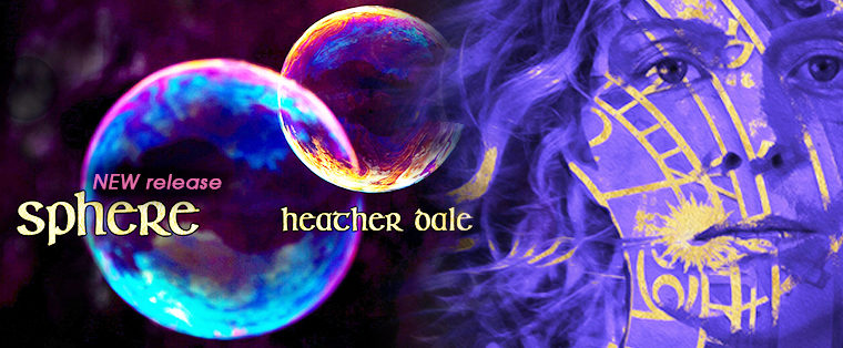 HEATHER DALE Releases Her 20TH Recording: SPHERE